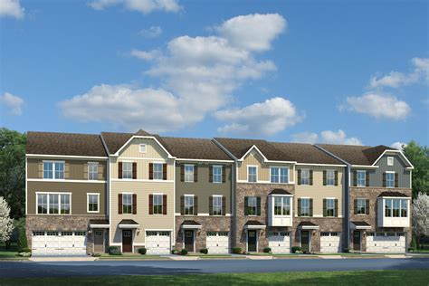 strauss townhome model  sale  shaws discovery townhomes  sparrows point md