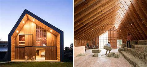 swallowfield barn  motiv architects contemporist