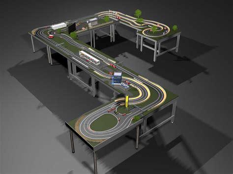 trak modular scalextric system