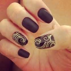 Amazing black and gold nail designs fashionsy