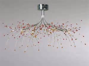 plafonnier pour cuisine luminaire contemporain pour salon plafonnier métal sampa