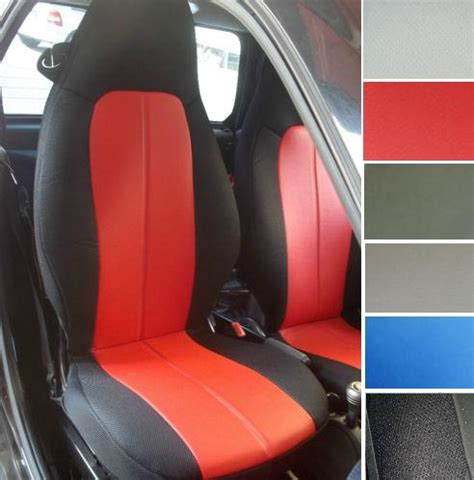 smart fortwo leatherette car seat covers