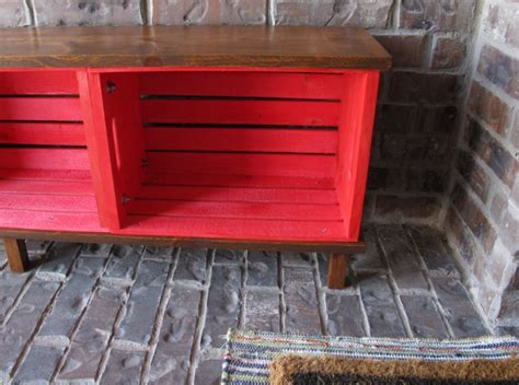 diy crate bench diy outdoor furniture painted furniture