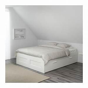 Cadre Lit Avec Rangement : cadre lit avec rangement ~ Teatrodelosmanantiales.com Idées de Décoration