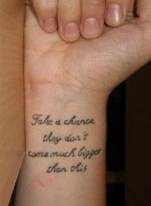 Word Tattoo Designs For Women on Wrist - Tattoo Designs ...