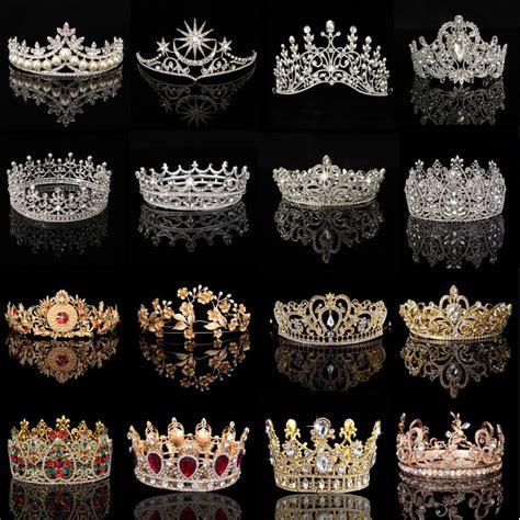 tiara diadem krone strass haarschmuck stirnschmuck braut