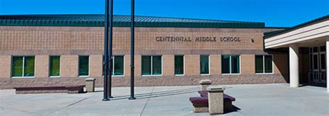 centennial middle school page