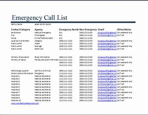 famous emergency phone tree template pattern wordpress With on call roster template
