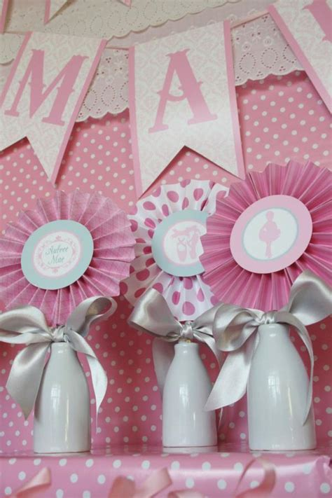 Kara's Party Ideas Pink Angelina Ballerina Girl Ballet