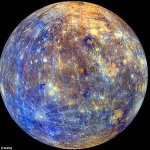 Spinning Mercury: Nasa reveal stunning animation showing ...