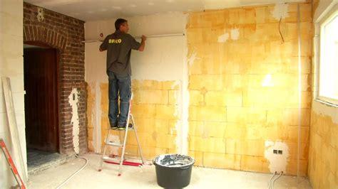 plafonner un mur etape par 233 bricolage