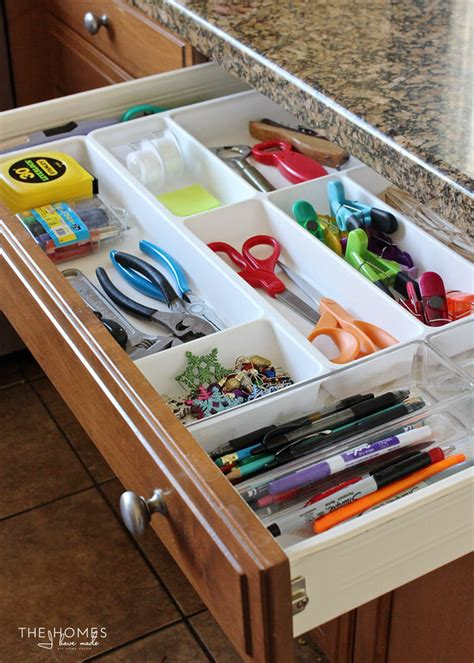 10 Tips For Perfectly Organized Kitchen Drawers The