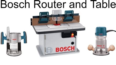 Permalink to Bosch Router Kit With Table