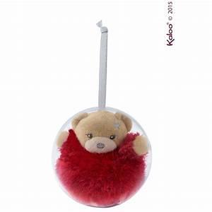 Mini Boule De Noel : mini ours boule de no l de kaloo accessoires d co aubert ~ Dallasstarsshop.com Idées de Décoration
