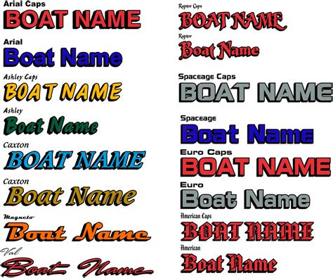 Boat Names Lettering Uk by Boat Name Decal Stickers With Shadow Boat Lettering Ebay