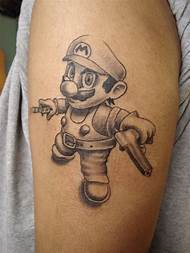 Best 25 Ideas About Gangster Clown Tattoos