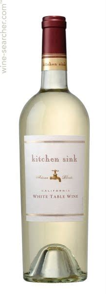 kitchen sink white table wine artisan blends kitchen sink white table wine california 8567