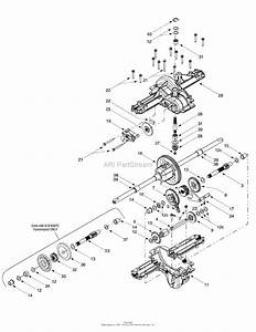 Mtd 13an607h352  2000  Parts Diagram For Single Speed
