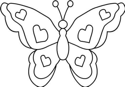 Butterfly Coloring Page Coloring Page & Book For Kids