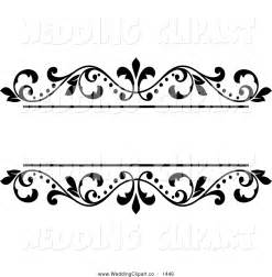Free Wedding Borders Clip Art Black and White