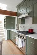 Olive Green Kitchen Cabinets  Ftempo Inspiration