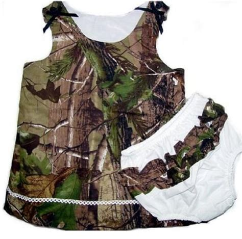 realtree camo dress infant baby toddler girls camouflage