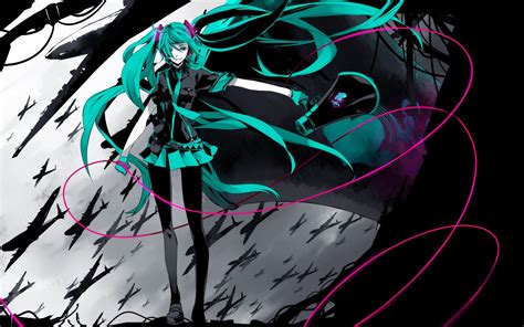 Is War Hatsune Miku Anime And Is War Hd Wallpaper And Background Image