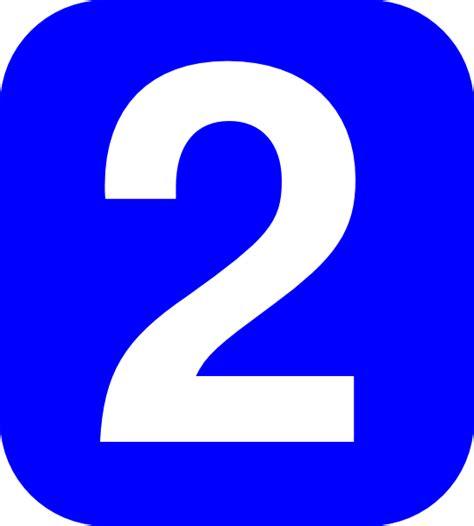 Number 2 Coner Num Clip Art At Clkercom  Vector Clip Art