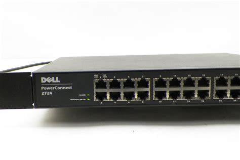 dell powerconnect 2724 24 port gigabit managed switch ebay