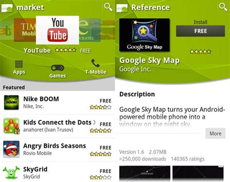 market android download
