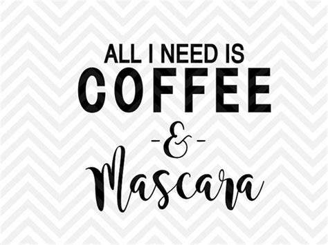 All You Need Is Coffee & Mascara By Kristin Amanda Designs Coffee Wall Pictures Kicking Horse Amazon.ca Color Wallpaper Painting Sale Price Roast Date Christmas Blends