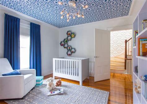 décoration chambre bébé garçon en bleu 36 idées cool