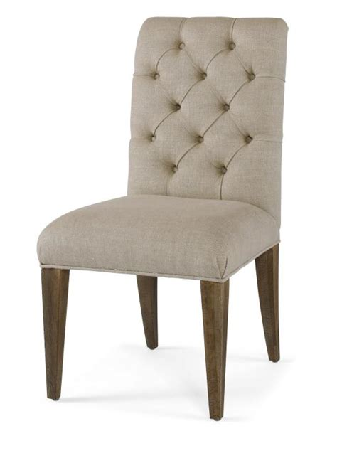 mcdaniel tufted button dining chair mecox gardens