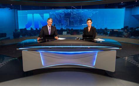 Inside Look Globo Augmented Reality News Studio