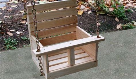 childs swing plans high  swing woodwork city