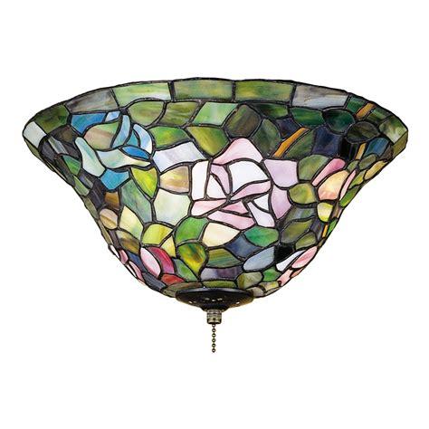meyda tiffany ceiling fans shop meyda tiffany rosebush 3 light mahogany bronze