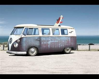 Bus Volkswagen Wallpapers Vw Van Combi Hippie