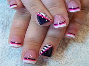 French tip nail designs – Step by step guide to a perfect ...