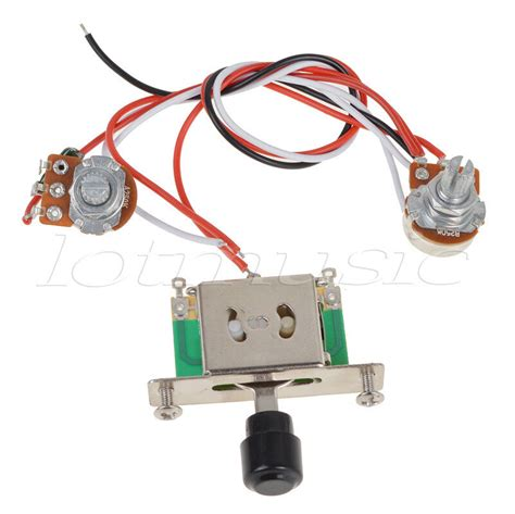 Way Toggle Switch Pots Knobs Wiring Harness