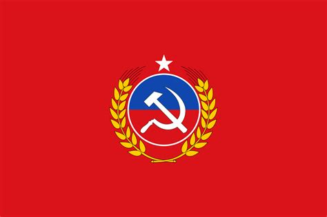 Fileflag Of The Communist Party Of Chile Svg Wikimedia
