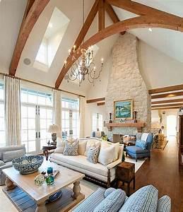 Vaulted Ceiling Ideas Living : Modern Ceiling Design