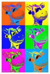 Pop Art Giraffe by rosanakooymans on deviantART