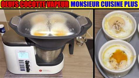 cuisine vapeur thermomix œufs cocotte épinards monsieur cuisine plus édition lidl
