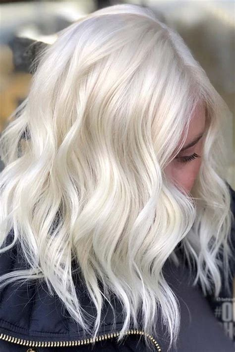 platinum blonde hair shades  highlights