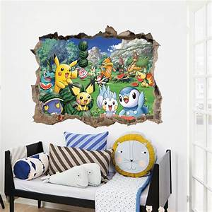 pokemon themed wall decals With pokemon wall decals