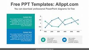 Banner Line Chart Powerpoint Diagram Template