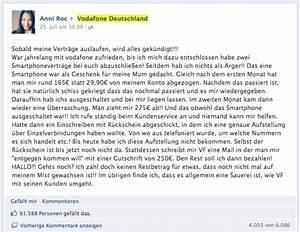 Vodafone Rechnung Email : vodafone facebook kundenbeschwerde mit ber likes ~ Themetempest.com Abrechnung