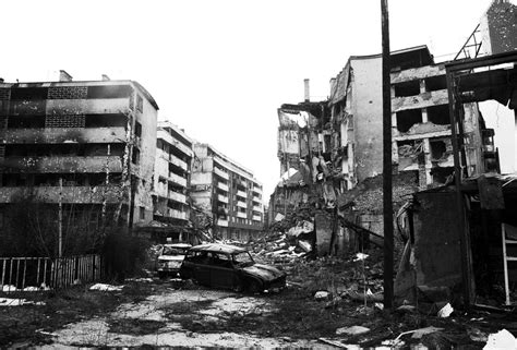 siege sarajevo the siege of sarajevo crushed cars and the debris of war