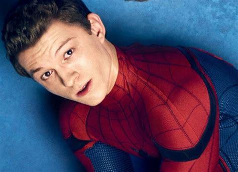 tom holland revela el nuevo traje de spider man
