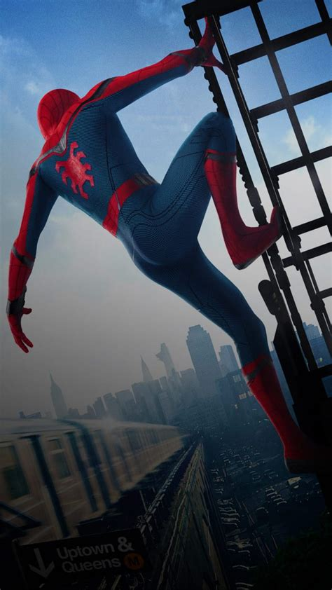 spiderman homecoming fondos de pantalla  android  iphone